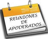 CALENDARIO DE REUNIONES DE APODERADOS