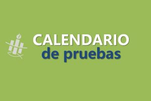 Calendario de Pruebas mes de Agosto 2018