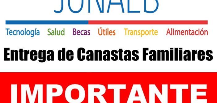 ENTREGA DE OCTAVA CANASTA JUNAEB