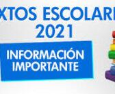 ENTREGA DE TEXTOS ESCOLARES 2021