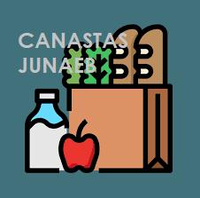 ENTREGA DE CANASTA DE ALIMENTACIÓN JUNAEB